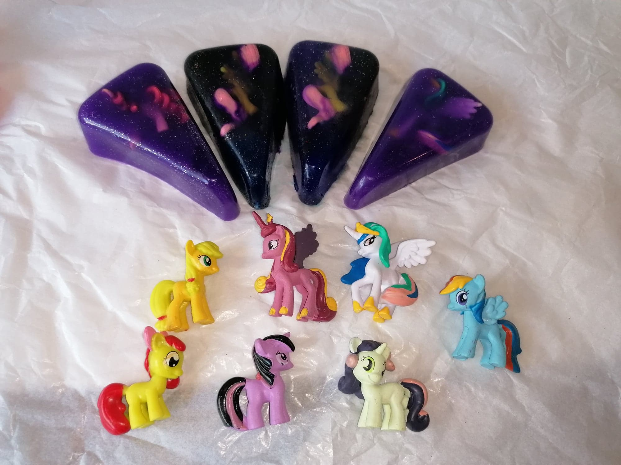 Pokemon, My Little Pony and Animal/Dino Figure soap