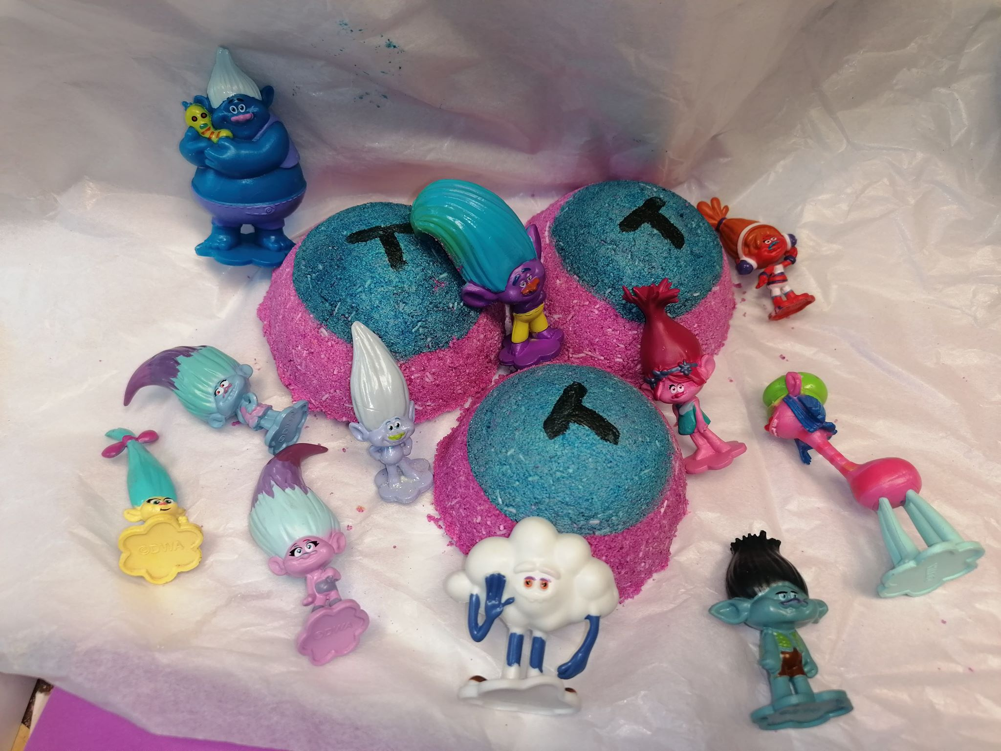 Troll Toy Bath Bombs