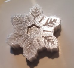Snowflake scented Snowflake Soap