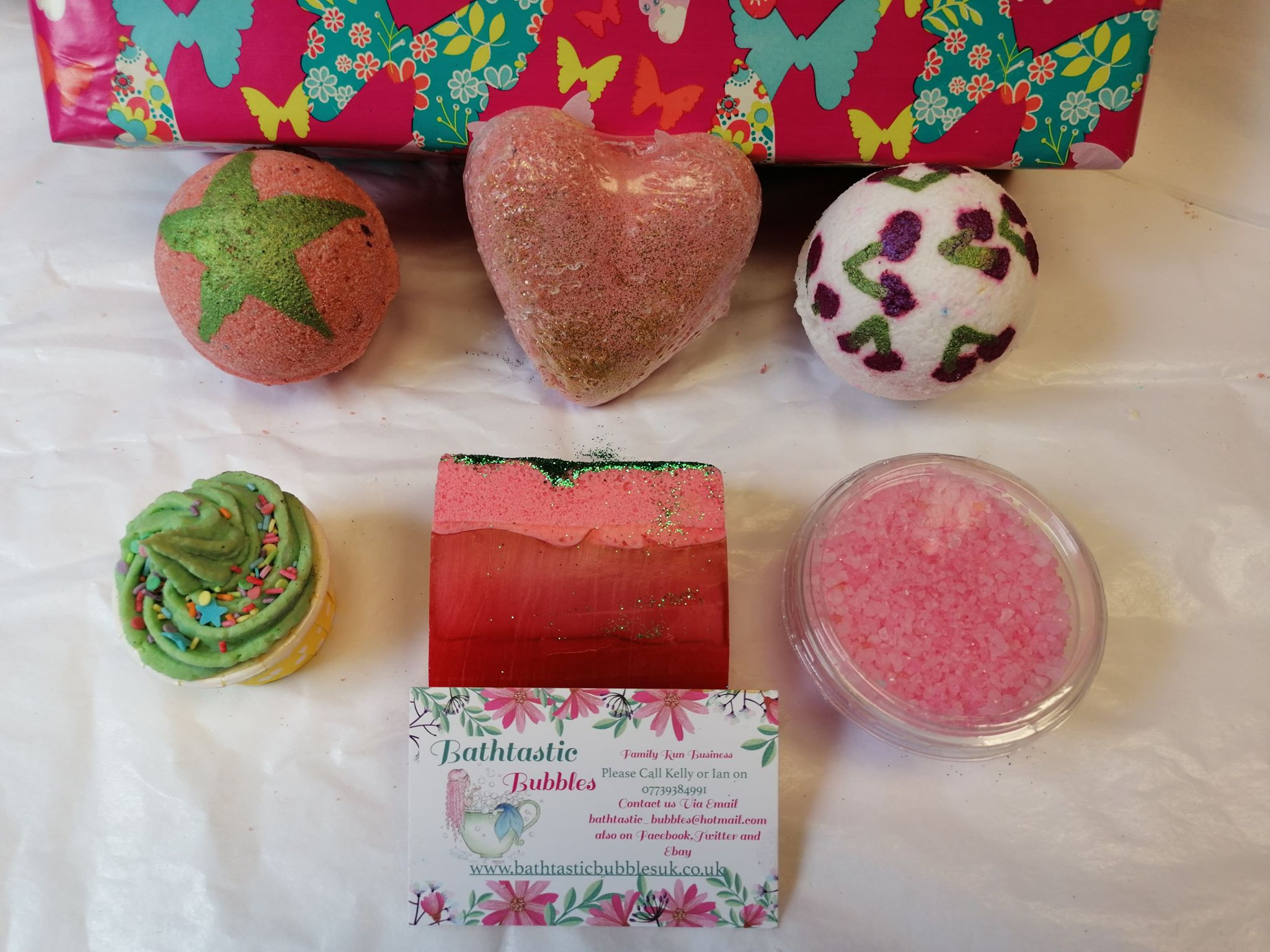 Fruity Butterfly Collection Gift Box