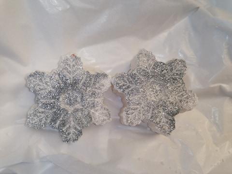 Snowflake Bath Bomb linen Fresh
