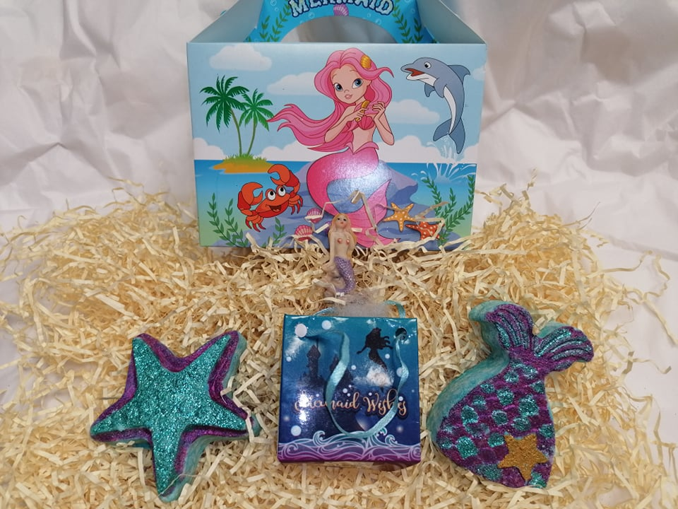 Mermaid Gift Box With Surprise Sea Life Ring