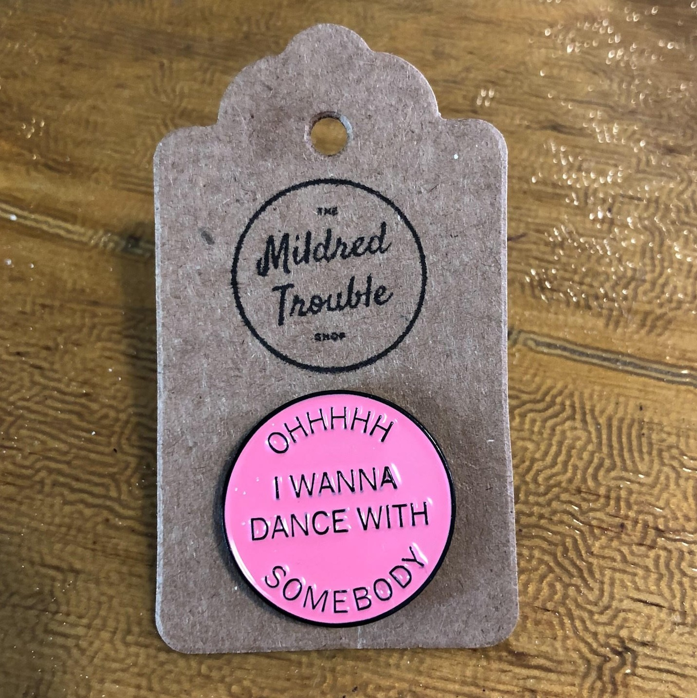 Enamel Pin by Mildred Trouble