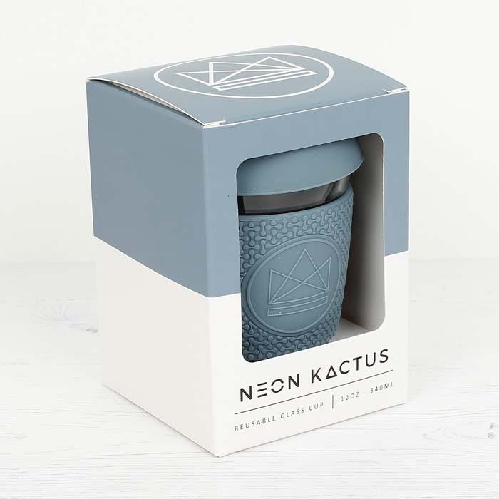 Reusable Glass Cup (12oz - 340ml) by Neon Kactus