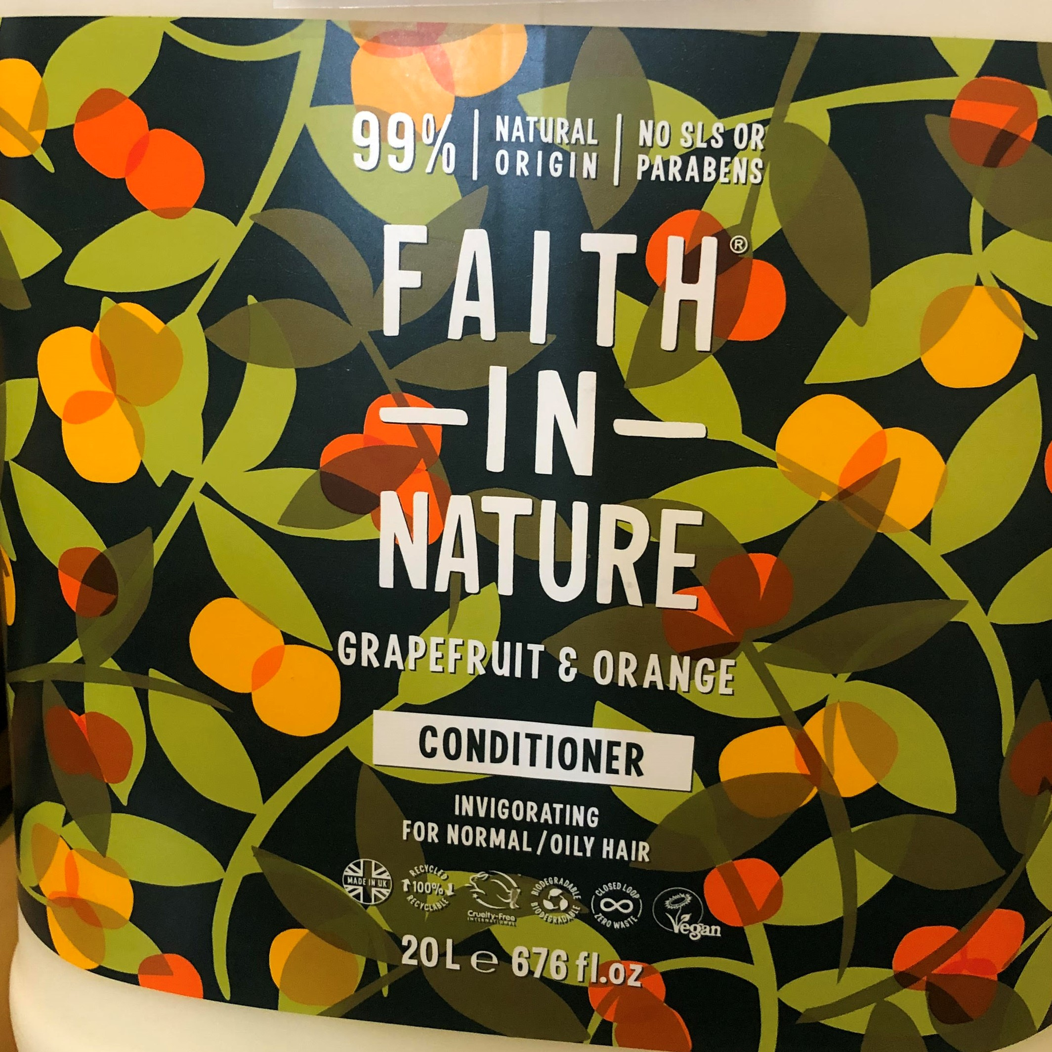 Conditioner (liquid only) by Faith in Nature