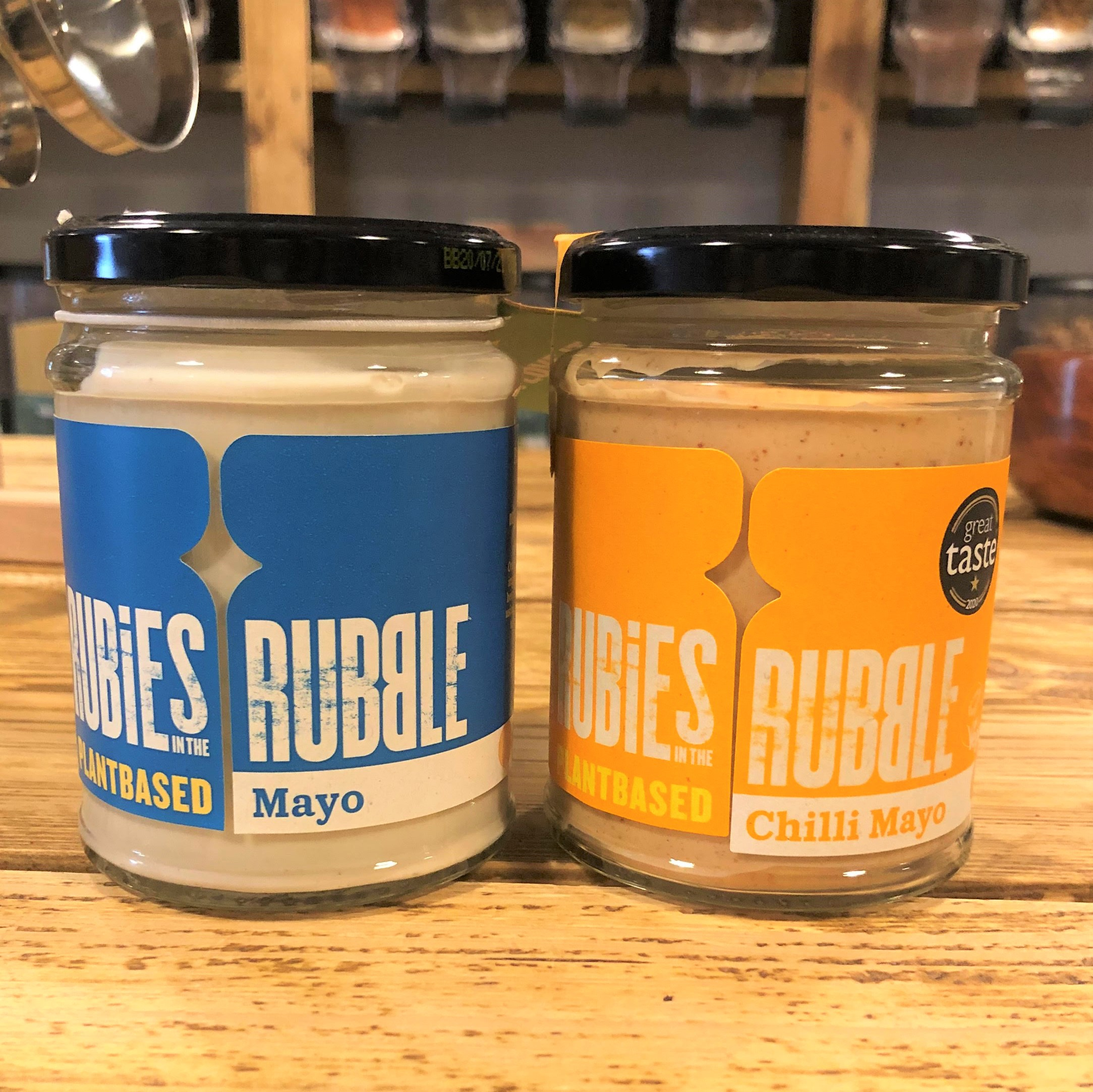 Mayo, Plant-based (240g) by Rubbies in the Rubble