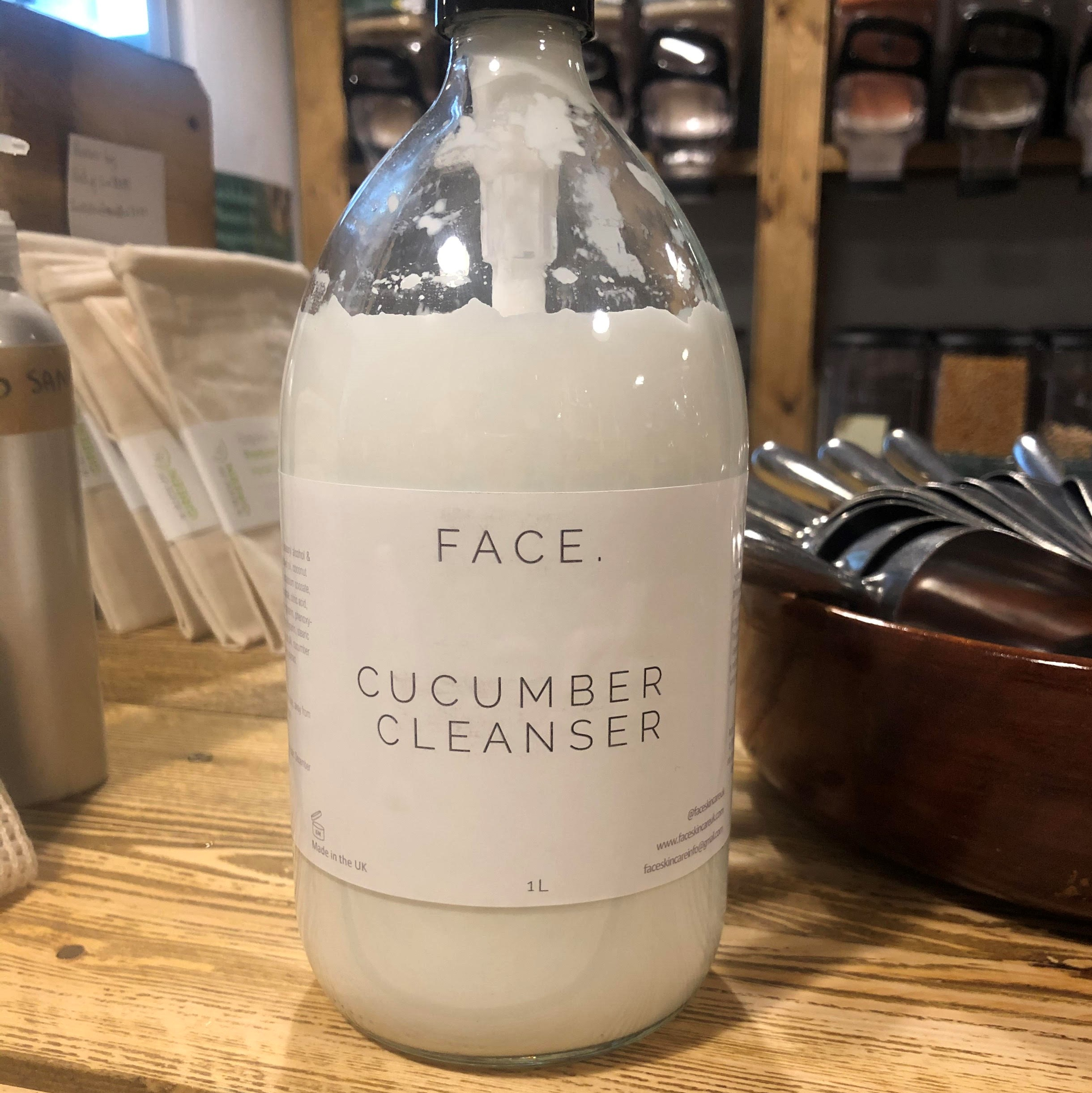 Cucumber Cleanser (Refill) by FACE.
