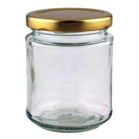 282ml Glass Jar w/ screw lid