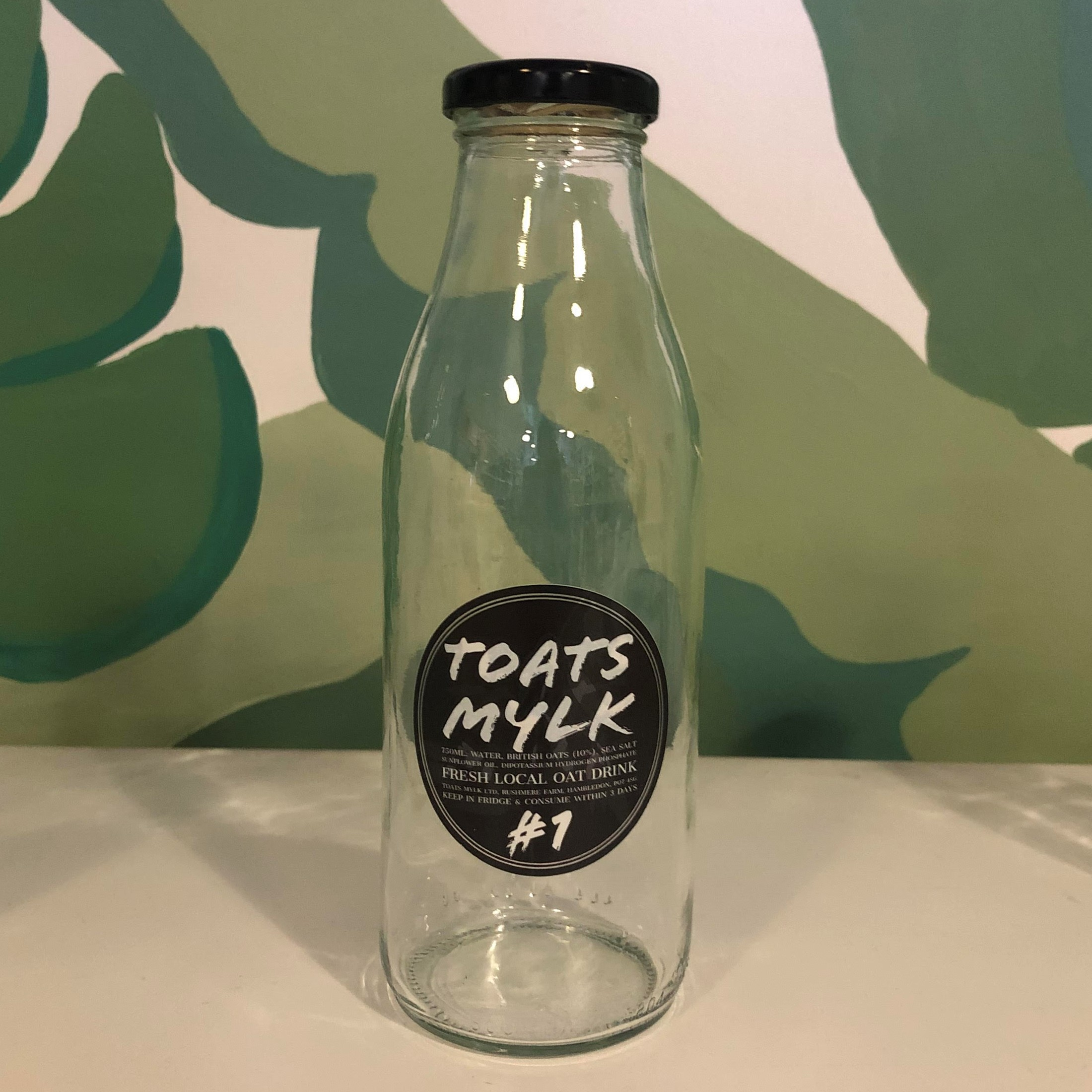 750ml Glass Bottle (TOATS MYLK)