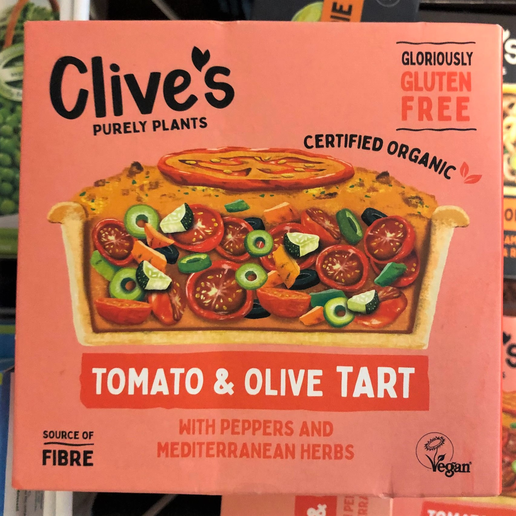 Clive's Pies & Tart (Gluten Free, Organic, Vegan)