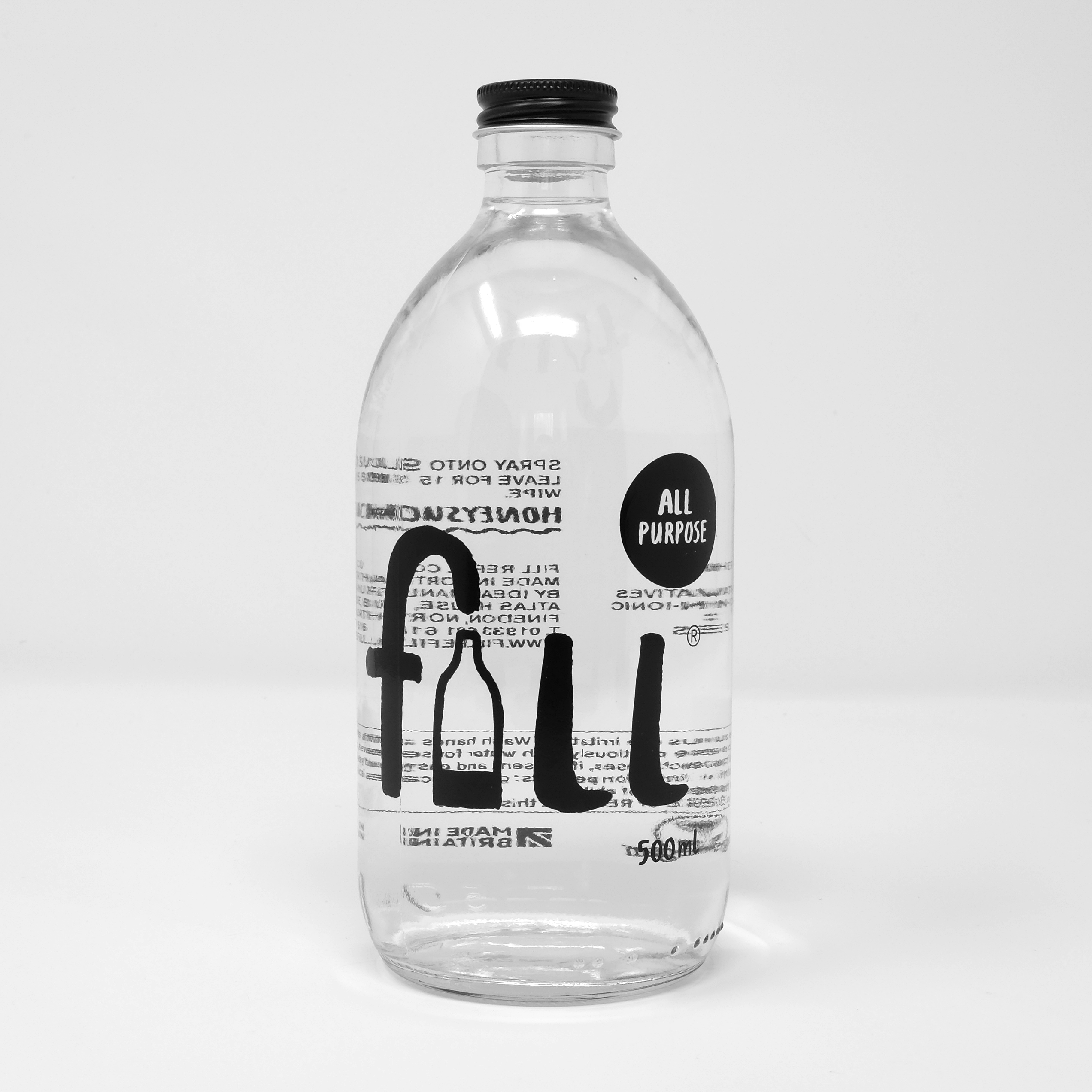 All Purpose - Honeysuckle (500ml, with bottle) by Fill
