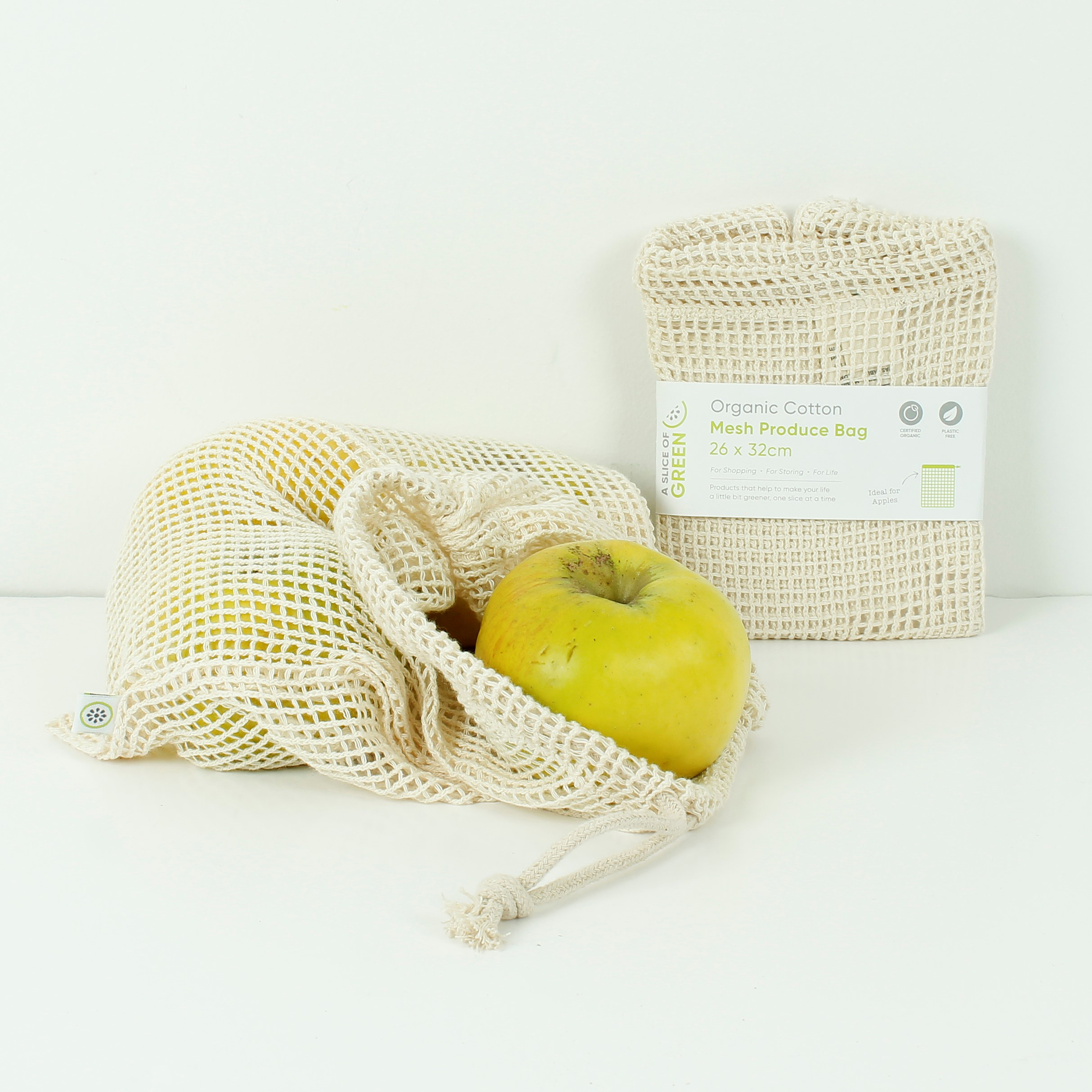 Mesh Cotton Produce Bags (Organic)