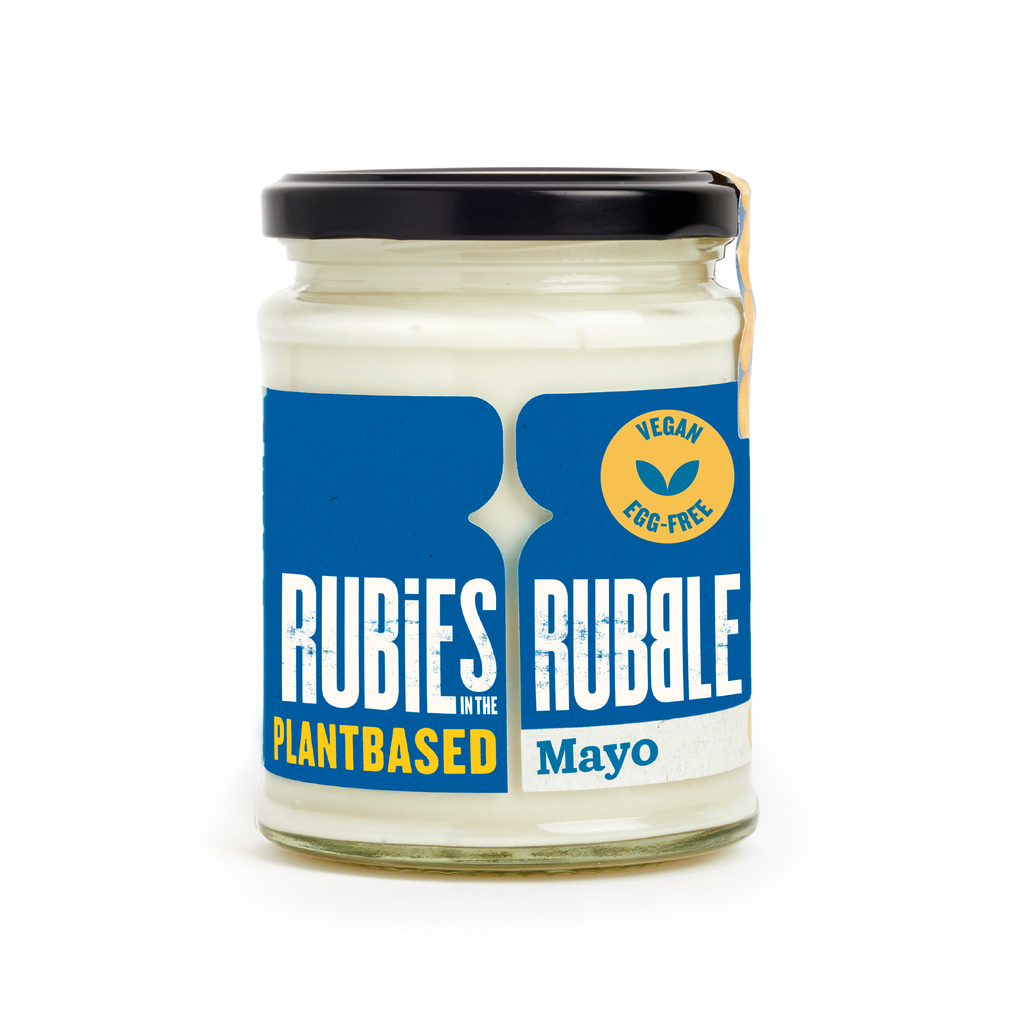 Plant Based Mayo (240g) by Rubbies in the Rubble