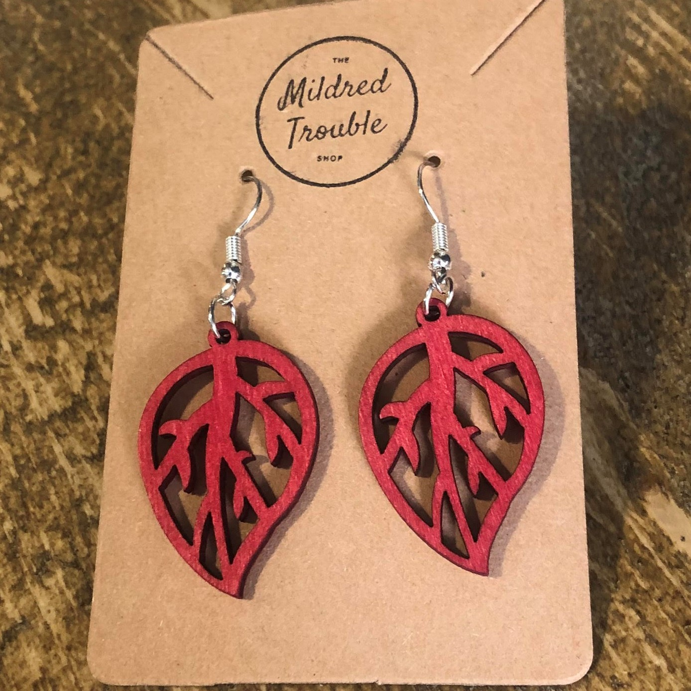 Earrings by Mildred Trouble