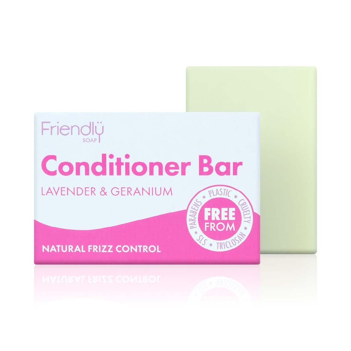 Conditioner Bar (90g) - Lavender & Geranium by Friendly Soap