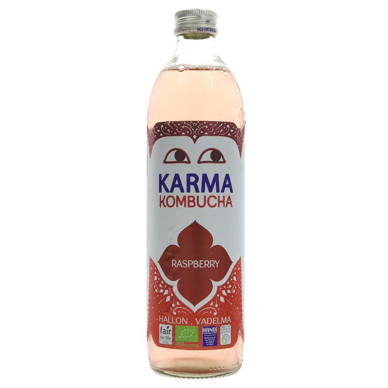 Raspberry Kombucha - Karma Kombucha (Organic), 500ml