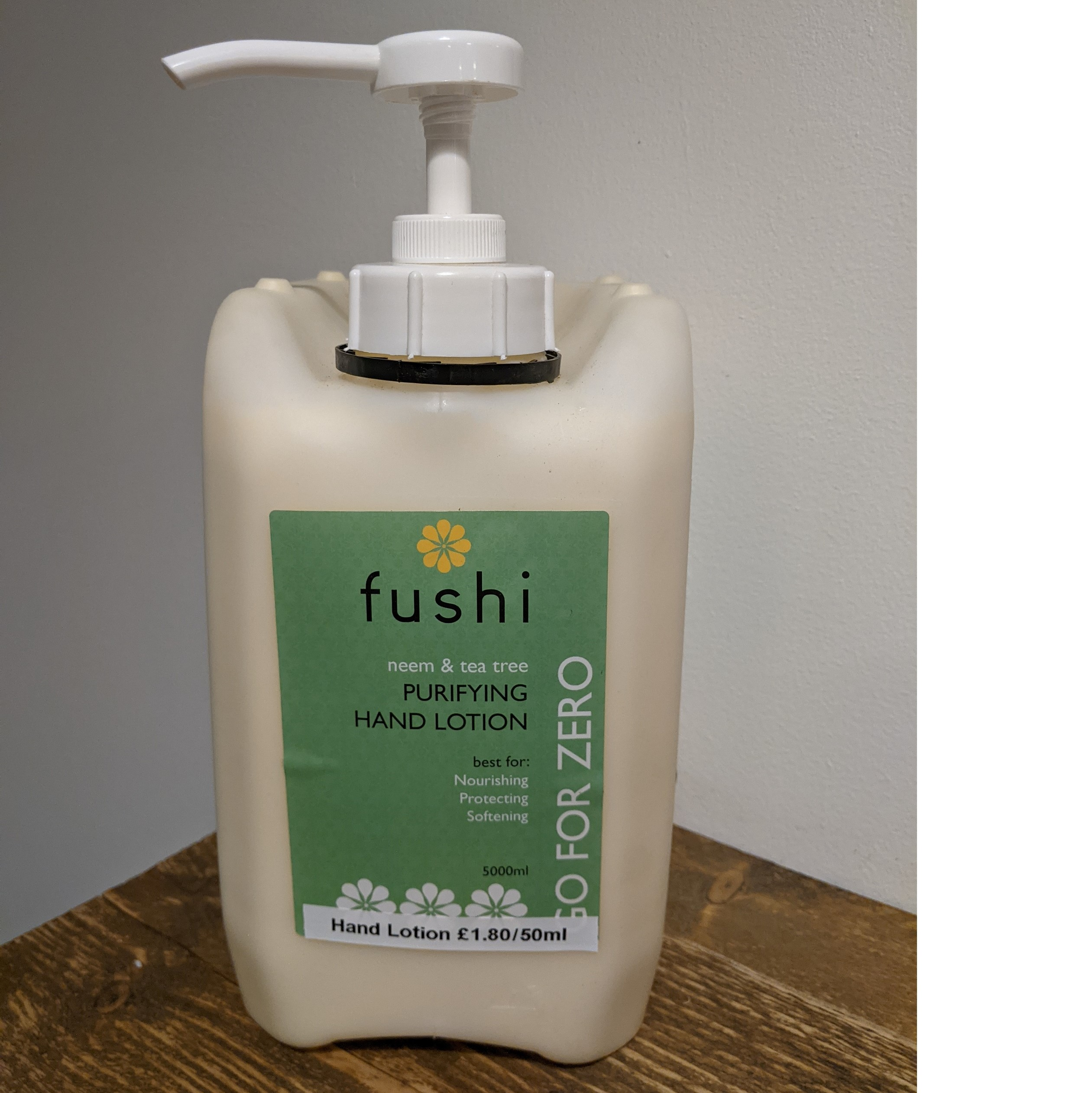 Hand Lotion, Purifying, Neem & Tea Tree (Refill) (Organic) by Fushi