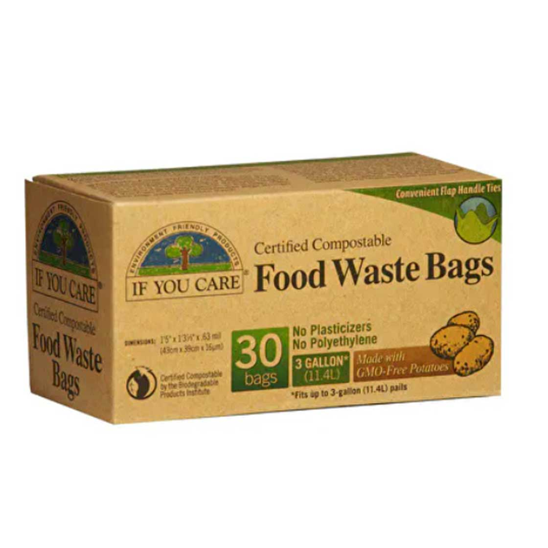 Food Waste Bags (Compostable) by If You Care