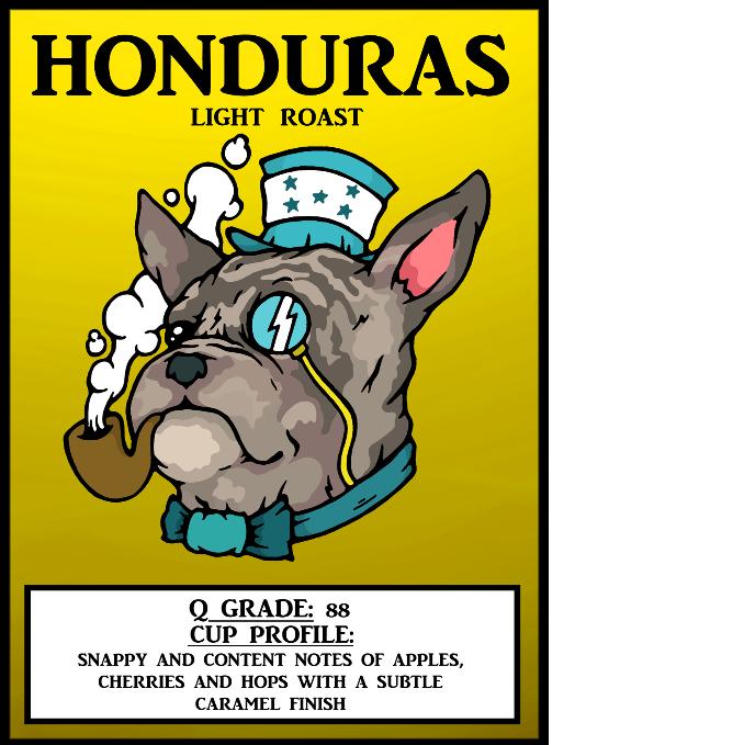 Honduras, Medium Roast (Single Origin) - Coffee Beans by Broadway Coffee Roasters