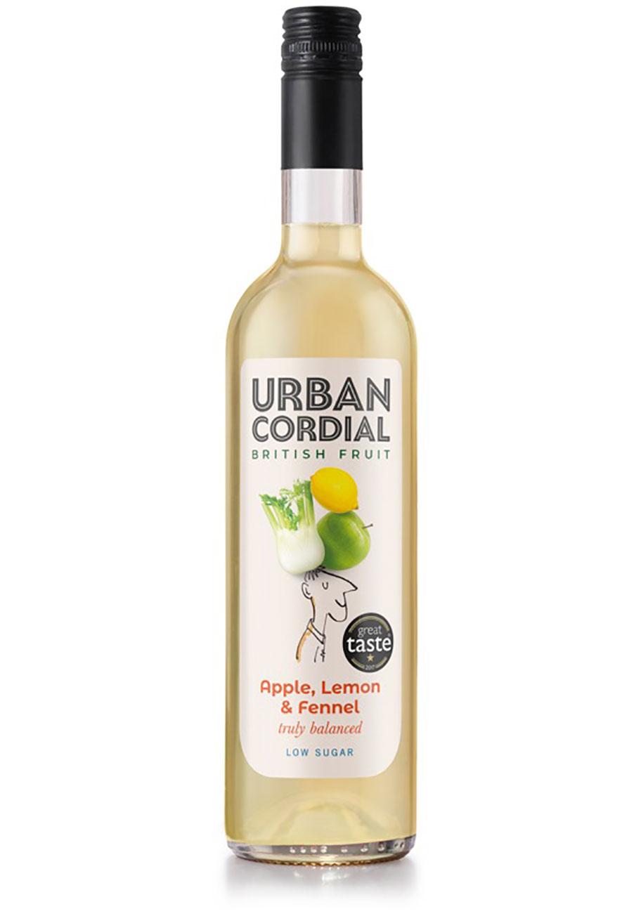 Apple, Lemon & Fennel Cordial - Urban Cordial