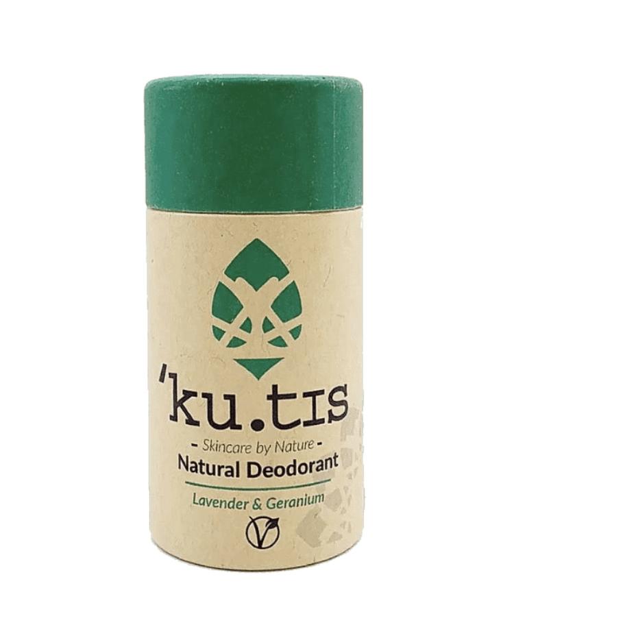 Lavender & Geranium, Push-up Deodorant by Ku.tis (Vegan)