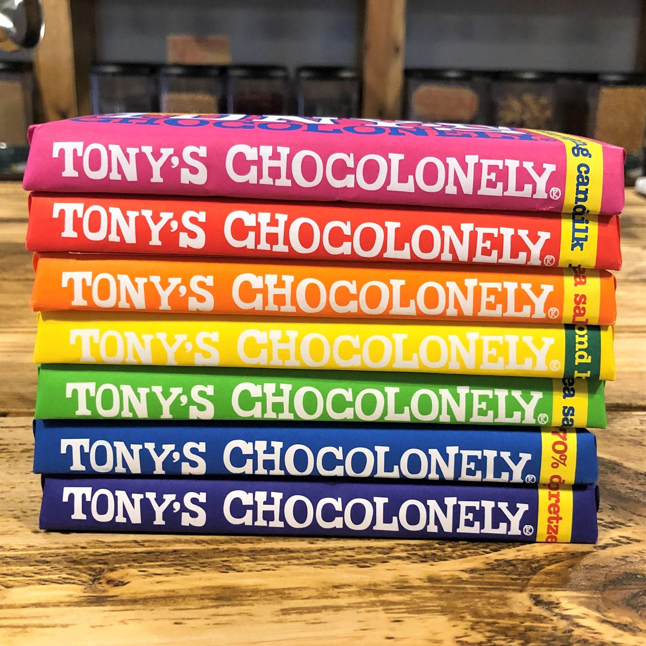 Chocolate bar (180g) by Tony's Chocolonely (Faitrade)