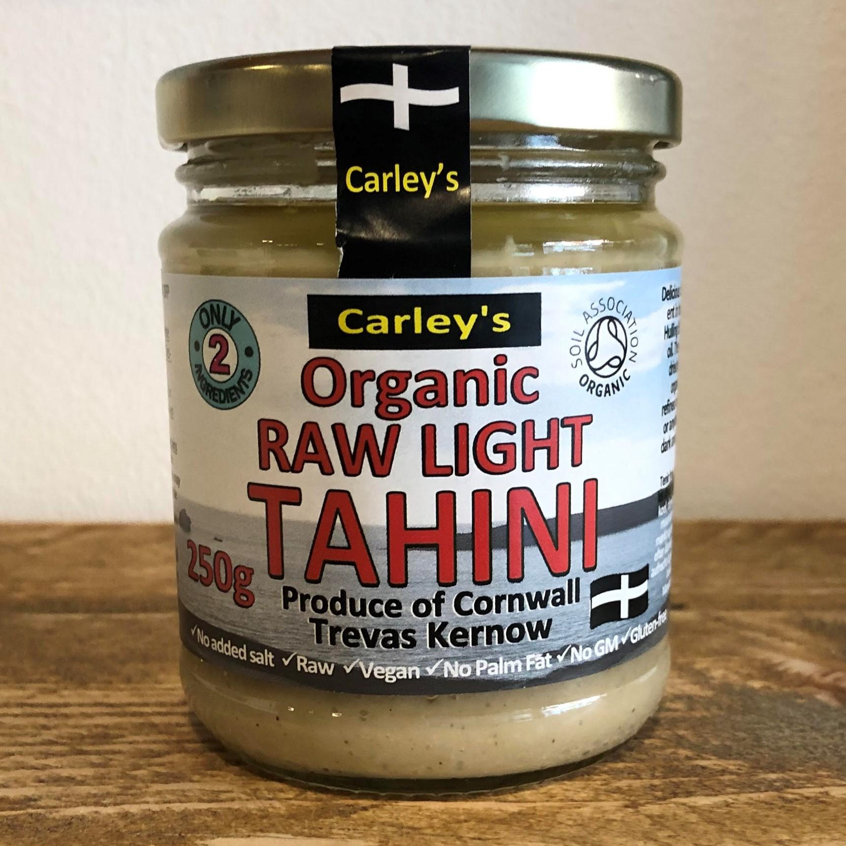 Tahini, Light & Raw, 250g (Organic) by Carleys