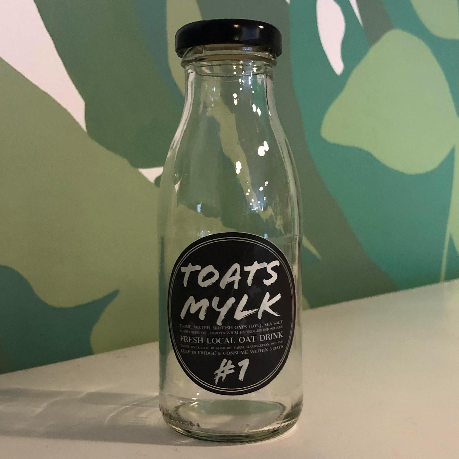250ml Glass Bottle (TOATS MYLK)