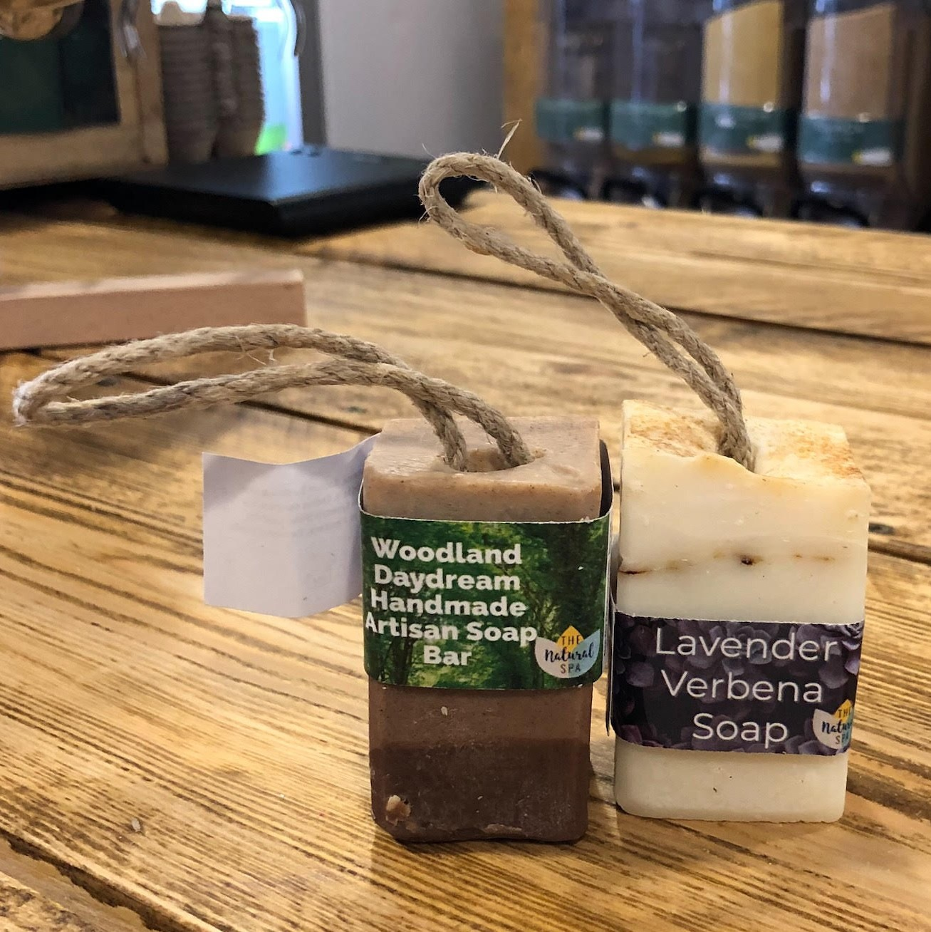 Soap on a Rope, Cold Processed (Vegan) by The Natural Spa