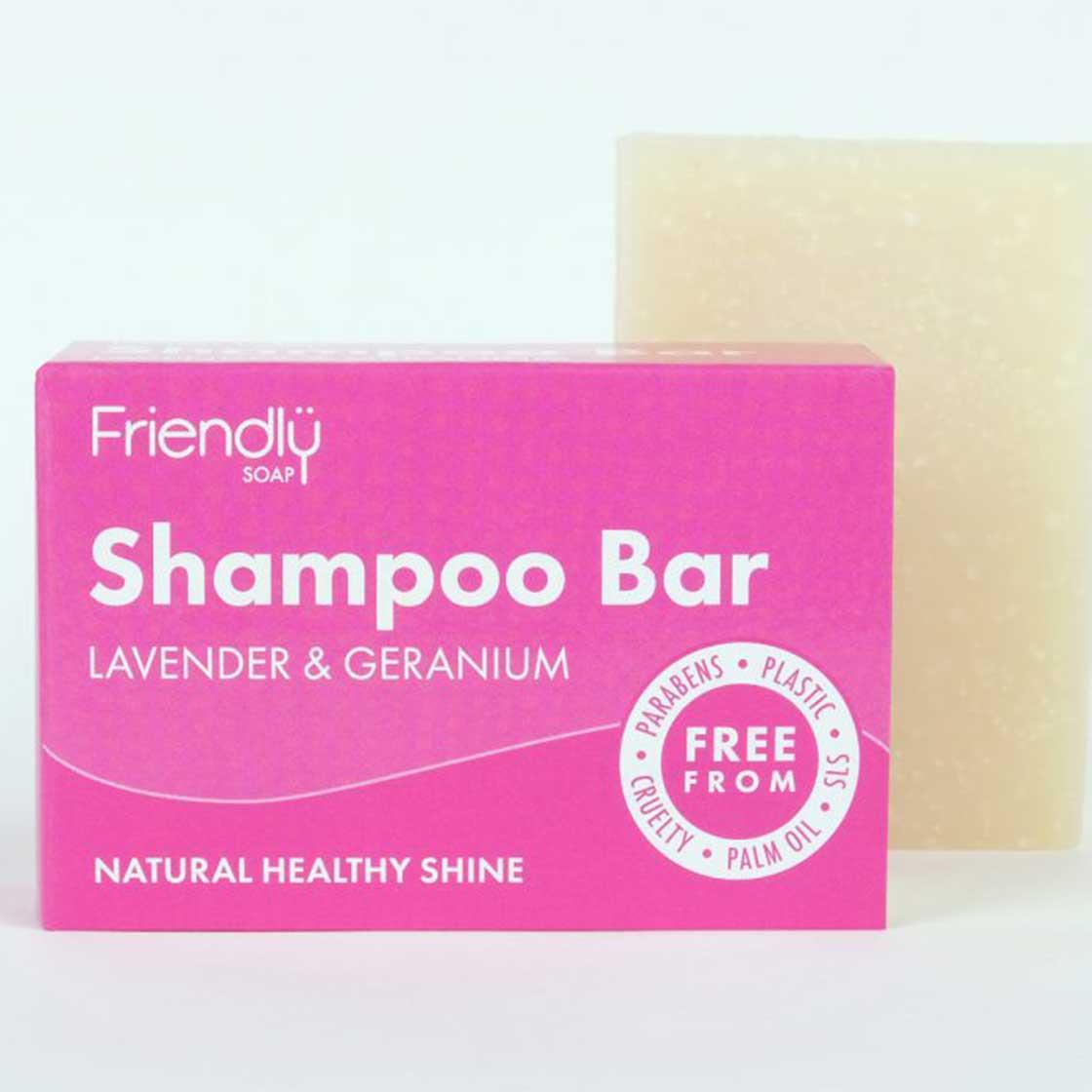 Shampoo Bar - Lavender & Geranium by Friendly Soap