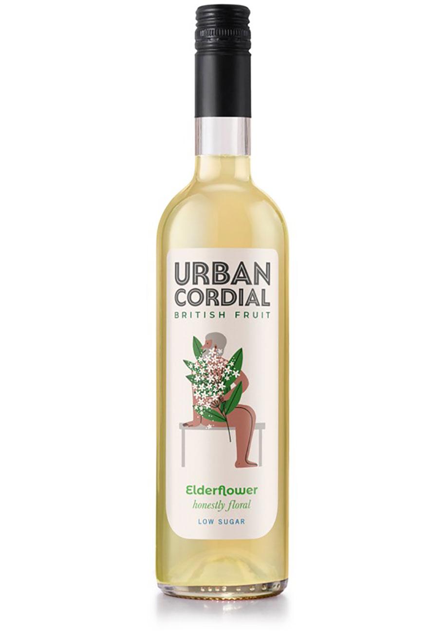 Elderflower Cordial - Urban Cordial