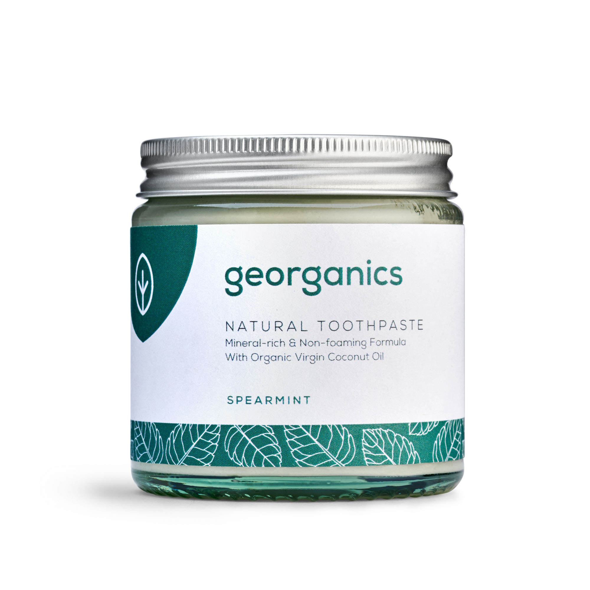 Spearmint Toothpaste (Fluoride Free) by Georganics
