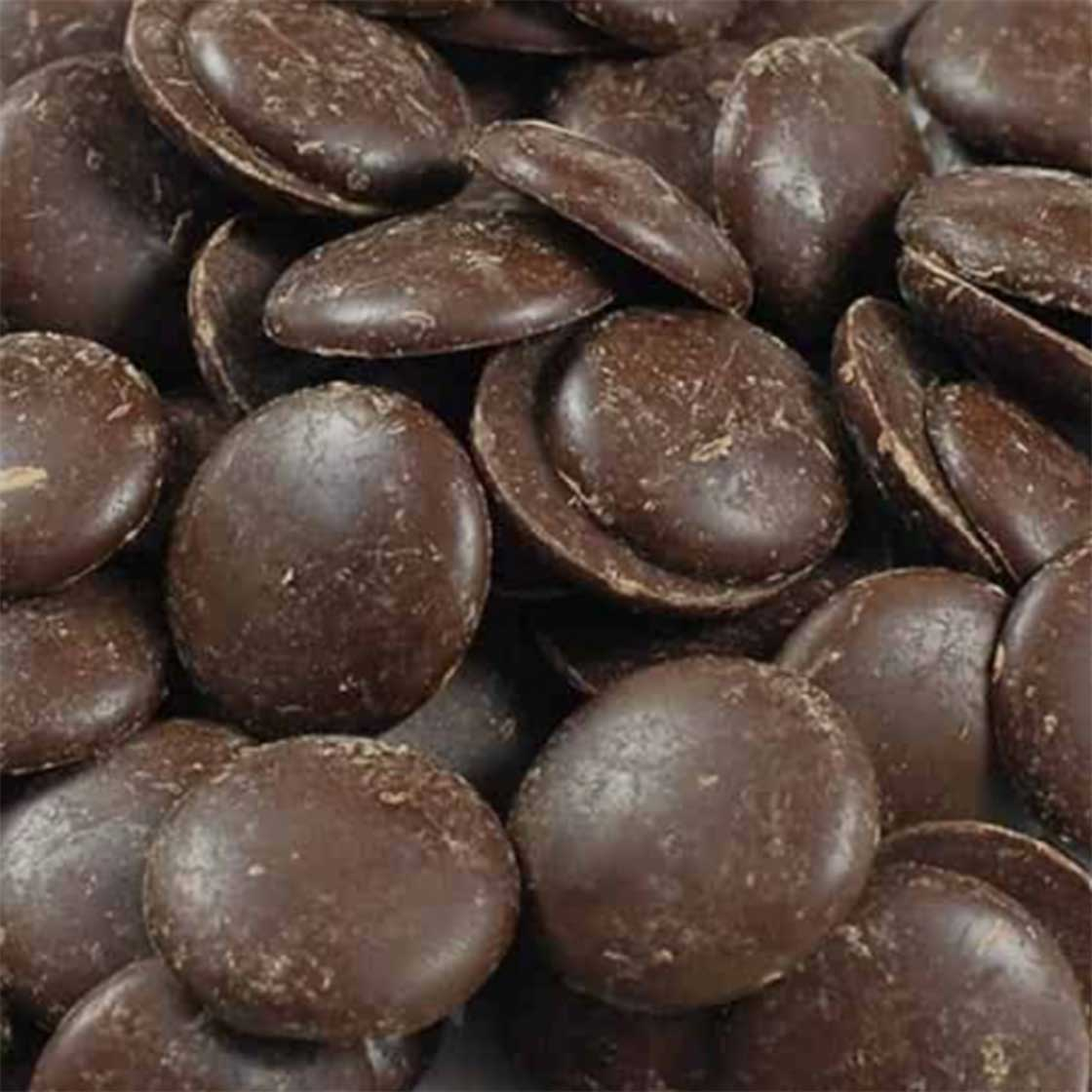 Dark Chocolate Drops (Gluten Free, Organic, Vegan)