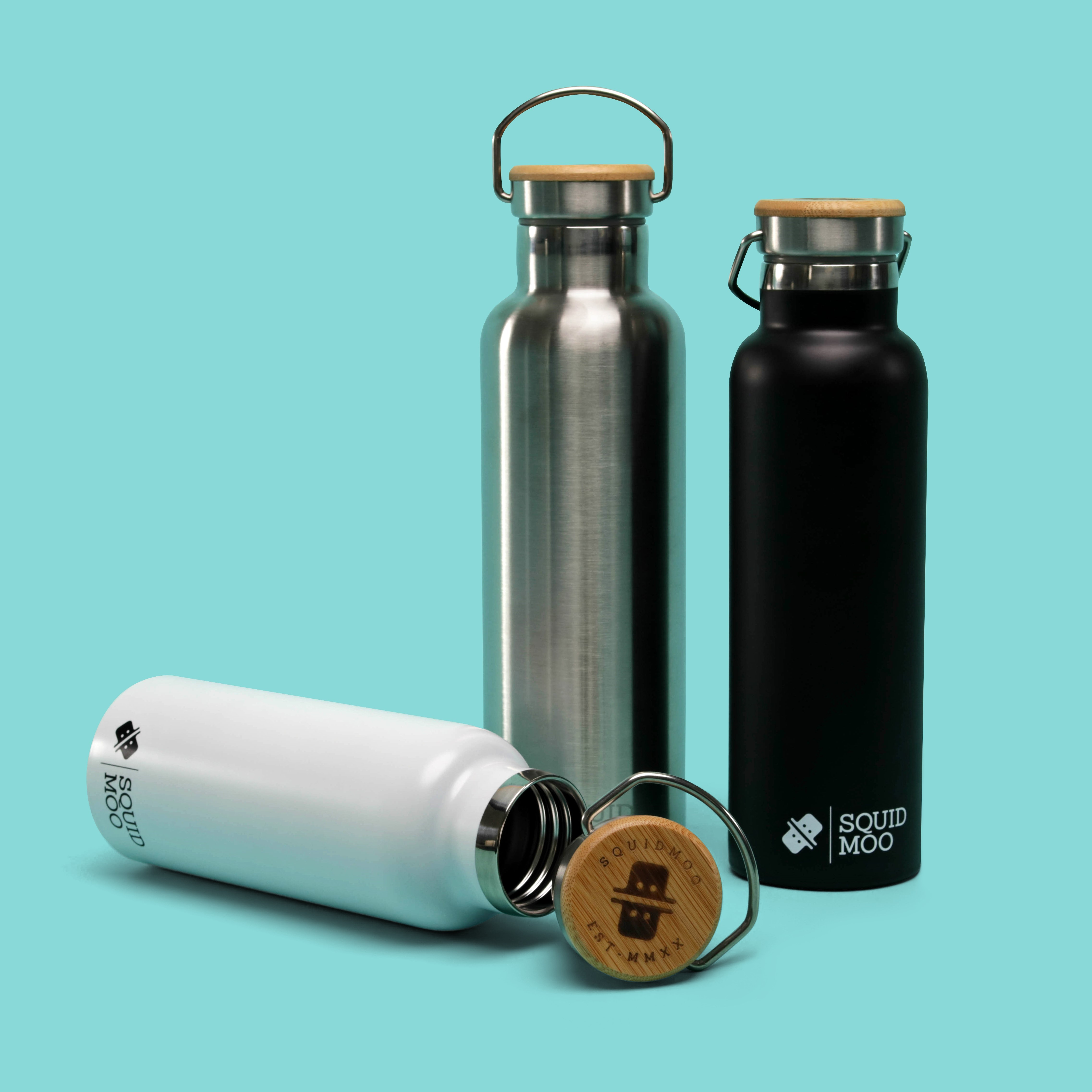 Lima Water Bottle (500ml) by Squidmoo