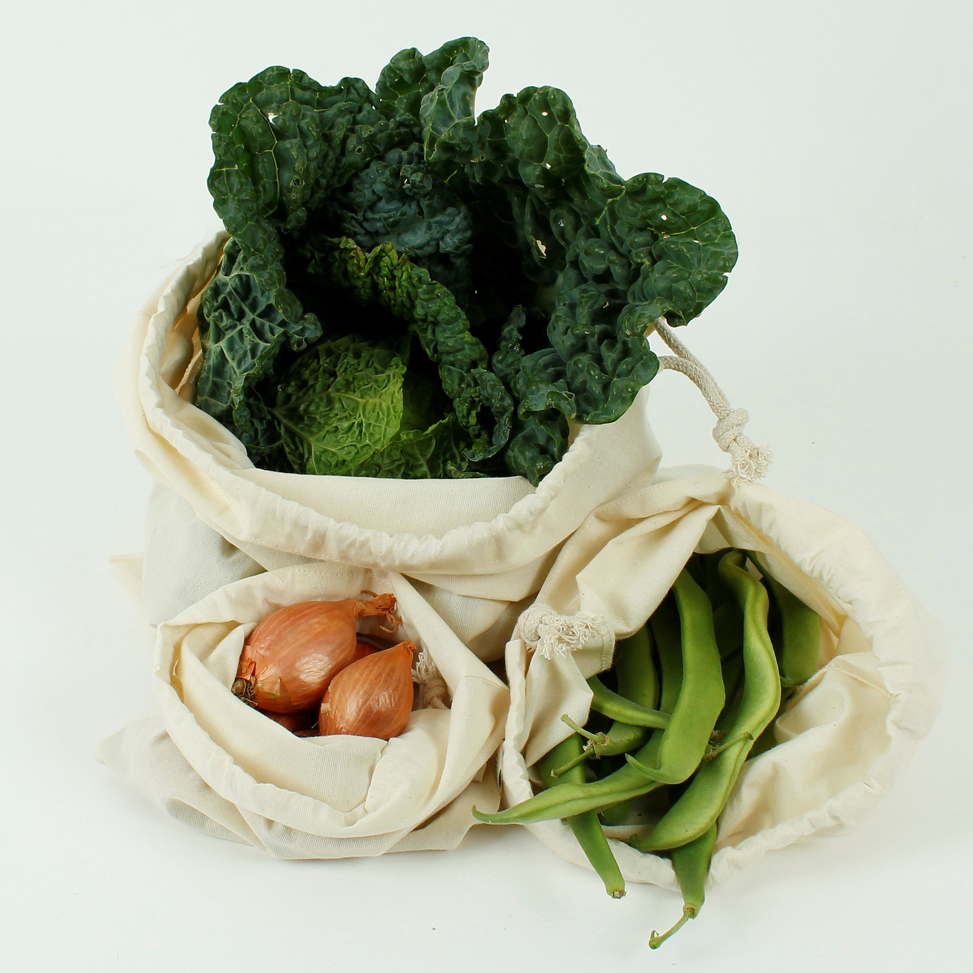 Cotton Produce Bags (Organic)