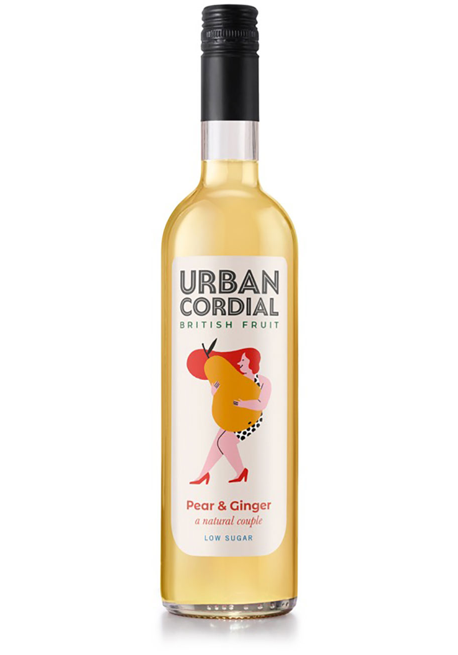 Pear & Ginger Cordial - Urban Cordial