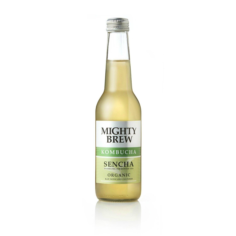Sencha Kombucha - Mighty Brew (Organic), 275ml