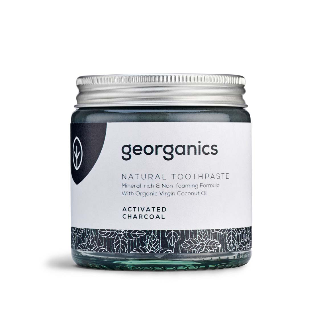 Activated Charcoal Toothpaste (Fluoride Free) by Georganics