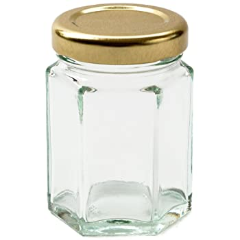 110ml Glass Jar w/ screw lid