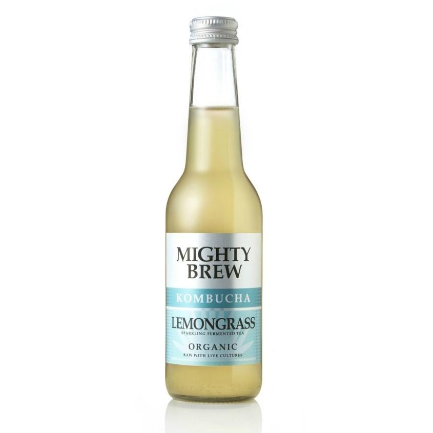 Lemongrass Kombucha - Mighty Brew (Organic), 275ml