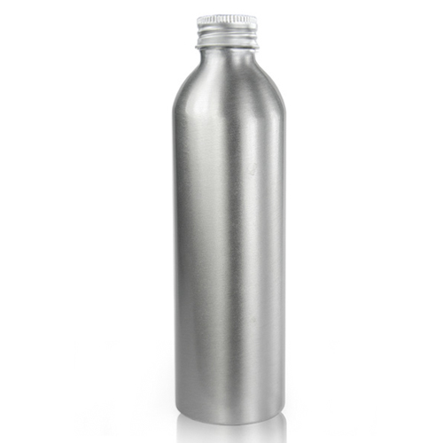 250ml Brushed Aluminium Bottle
