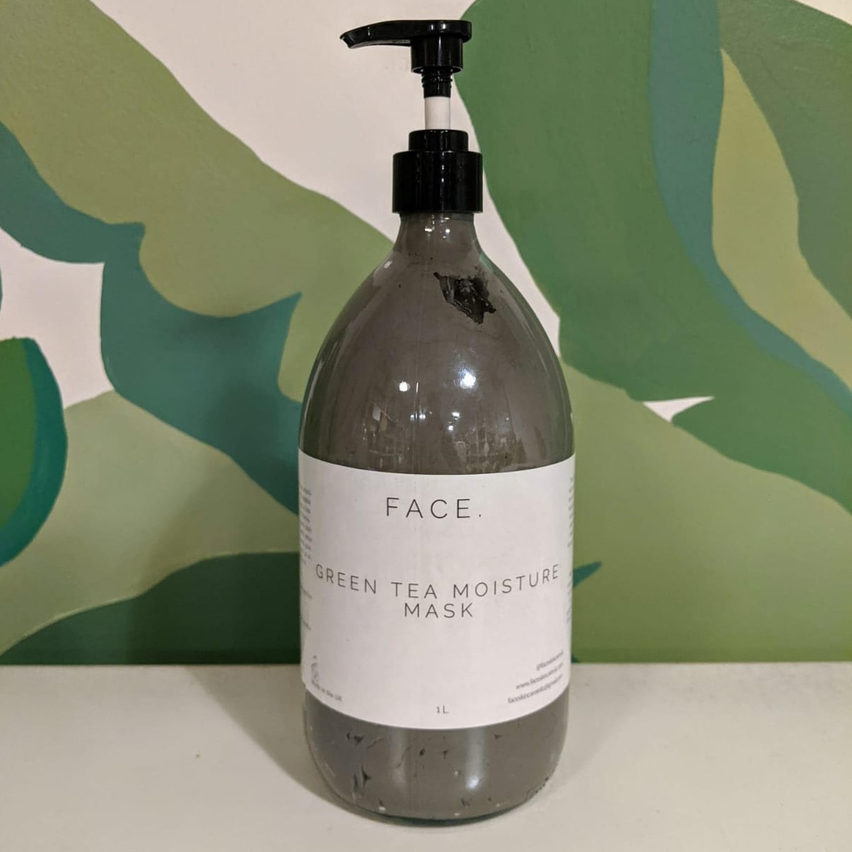 Green Tea Moisture Mask (Refill) by FACE.