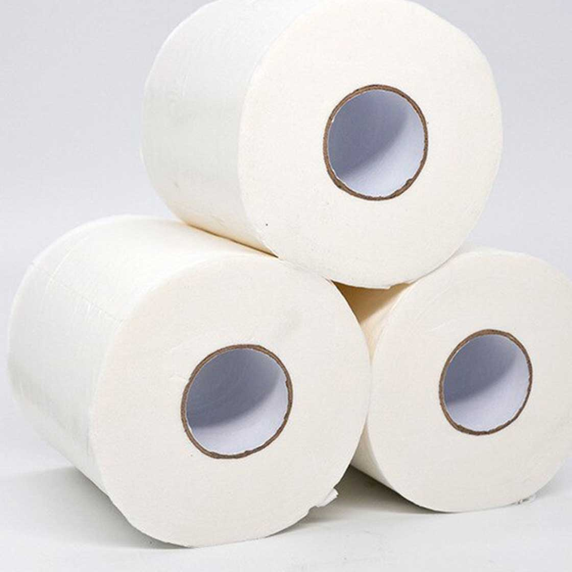 Toilet paper (100% recycled) - Individual Rolls by Ecoleaf