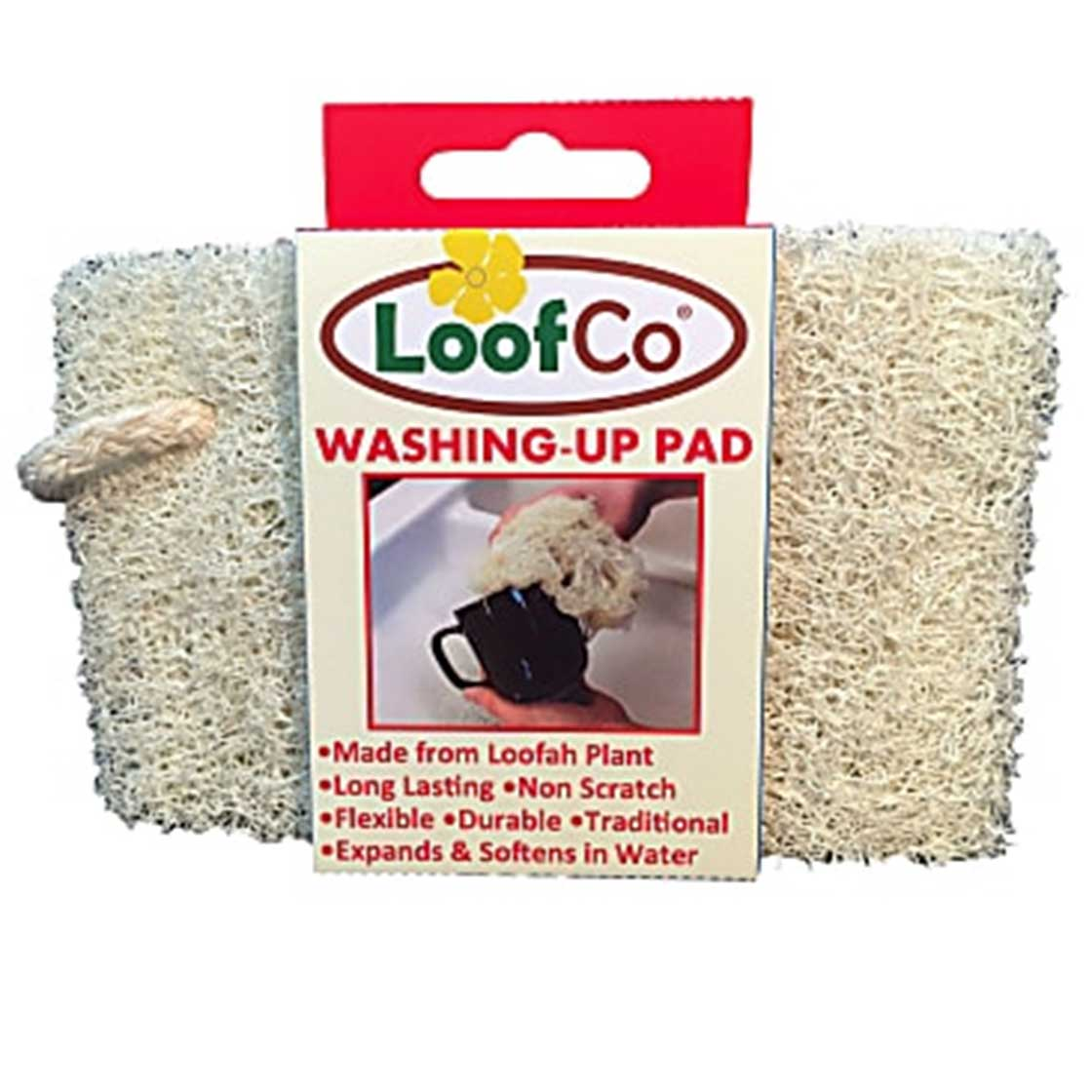 Washing-up Pad, Loofah Plant (Loofco)