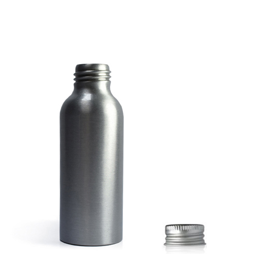 100ml Brushed Aluminium Bottle