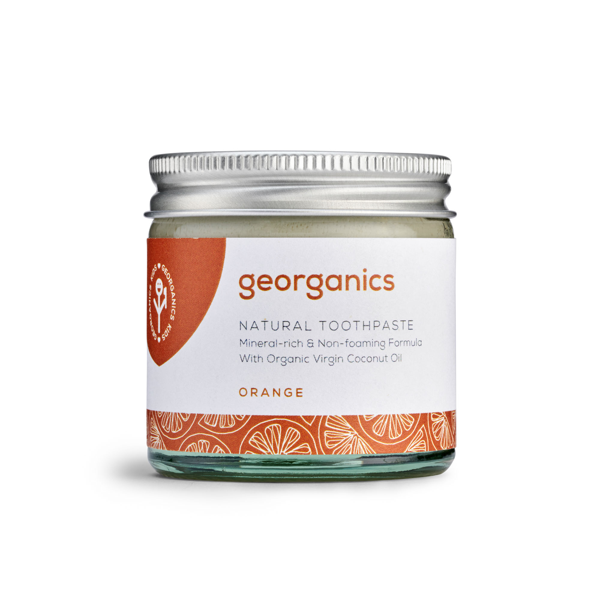 Orange Toothpaste, (Fluoride Free) by Georganics