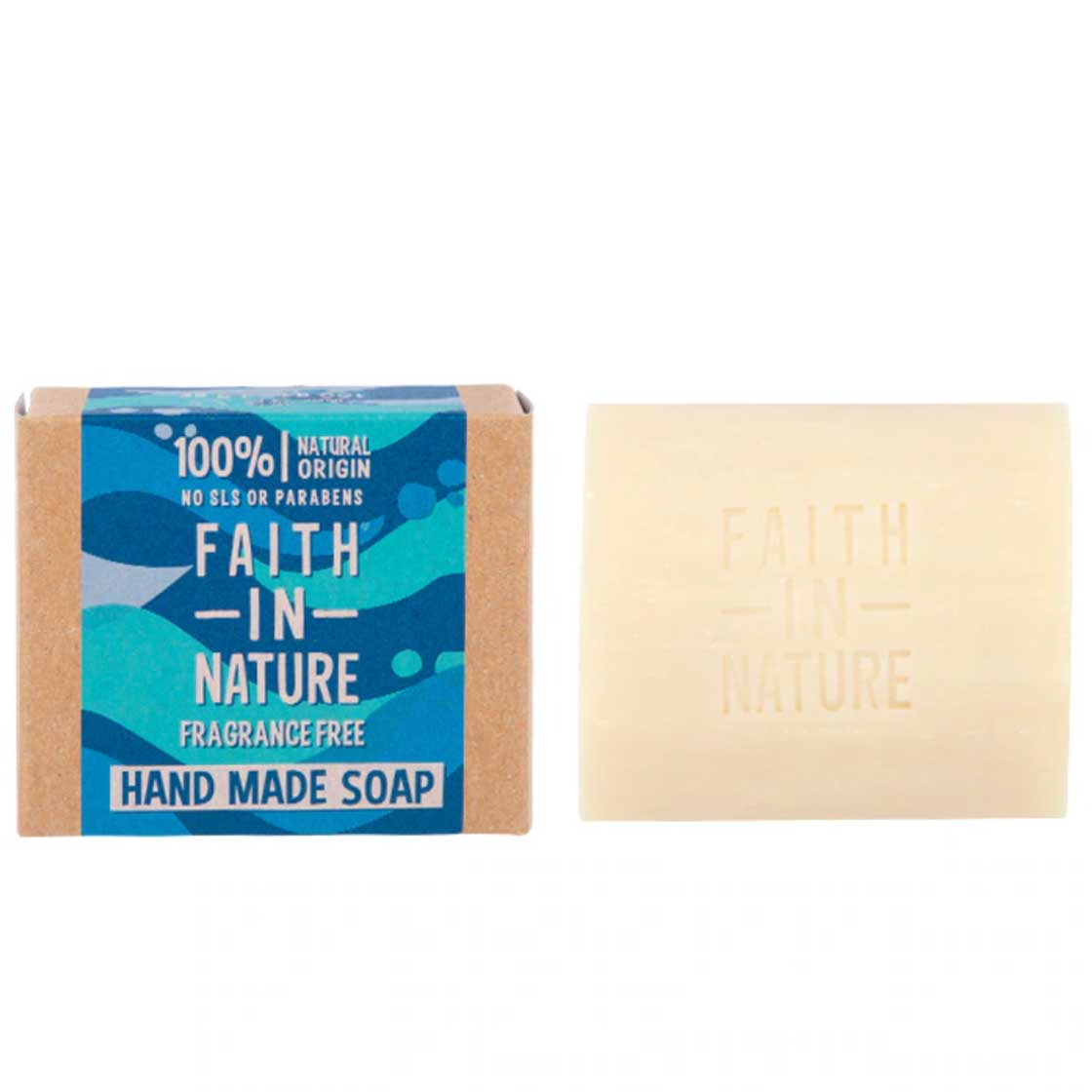Soap Fragrance Free, with Seaweed by Faith in Nature
