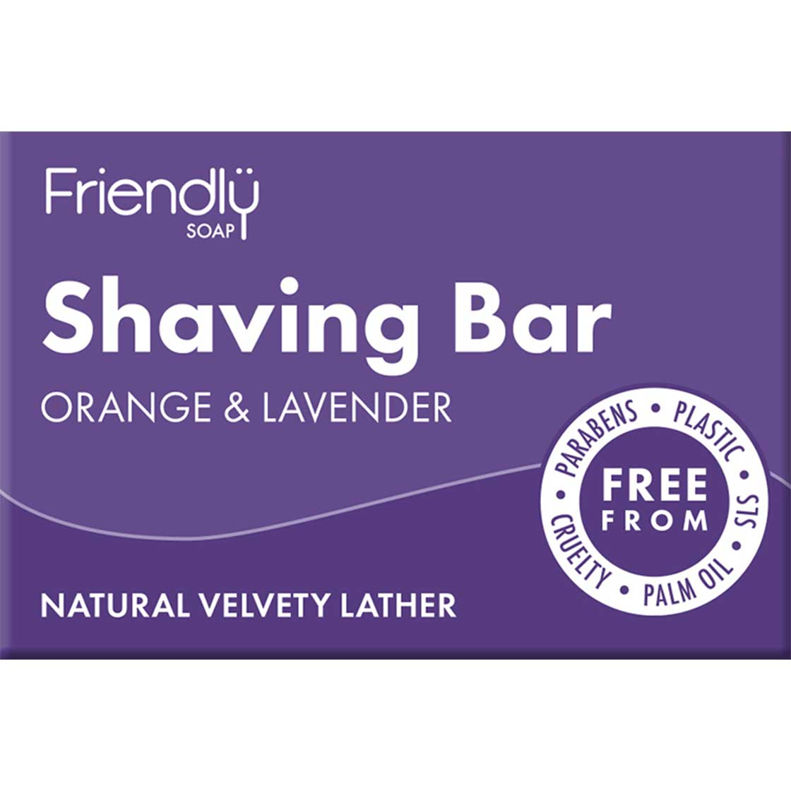 Shaving Bar - Orange & Lavender by Friendly Soap