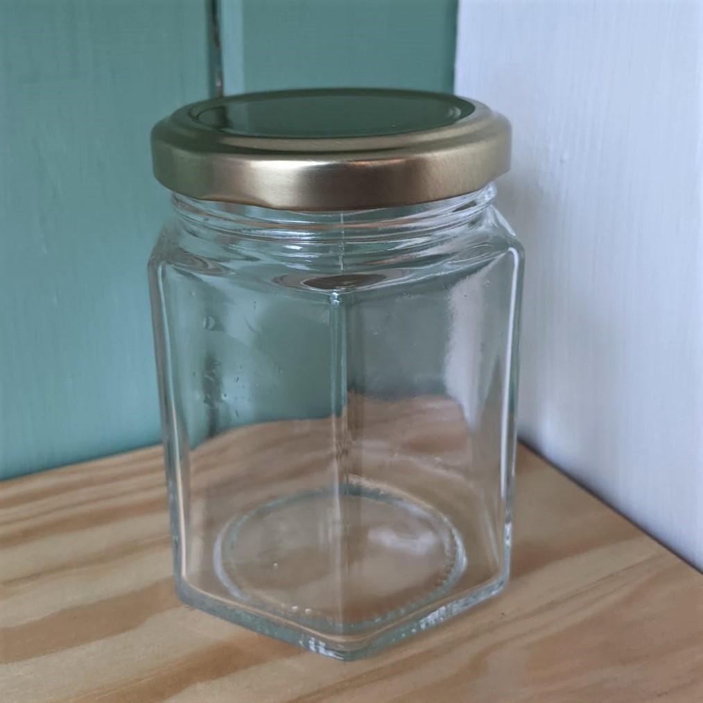 196ml Glass Jar w/ screw lid