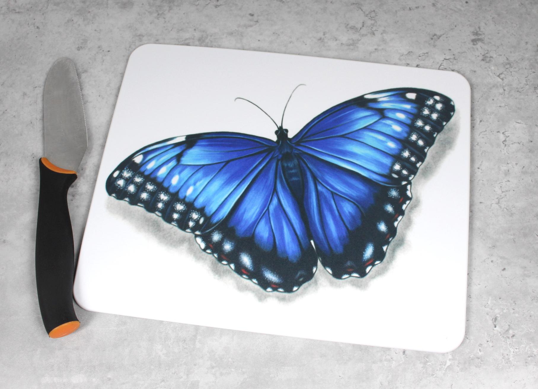 Perhonen Sininen -Leikkuulauta